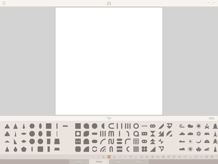 Screenshot of new, blank drawing in Assembly