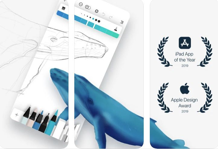 Flow iOS note-taking and drawing productivity app