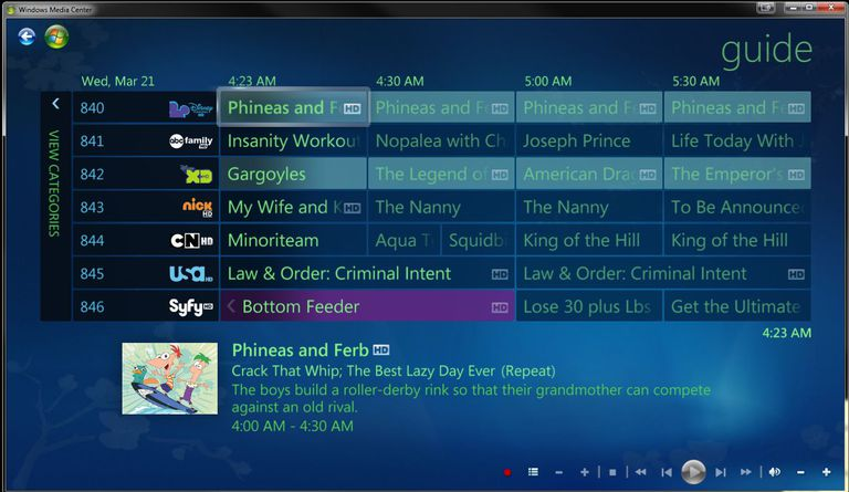 Adding color coding and using My Channel Logos brings gives some flair to your boring EPG in Media Center