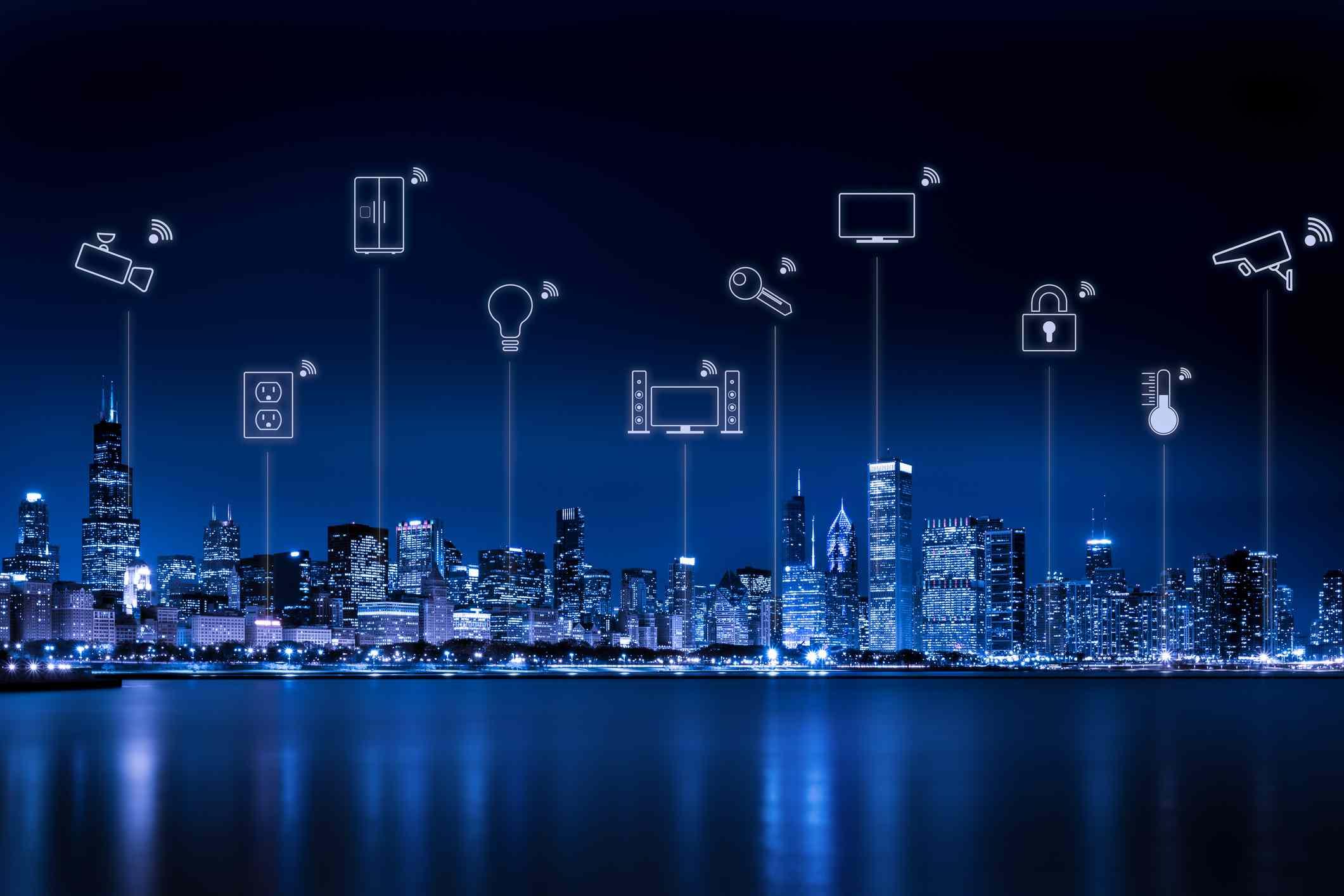 A smart city