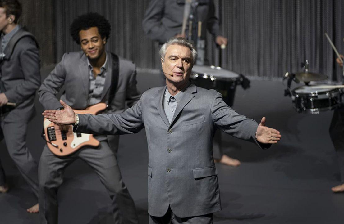 David Byrne performs in 'David Byrne's American Utopia.'