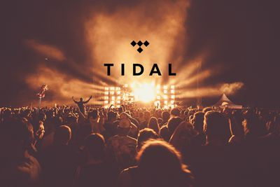 concert image with tidal logo
