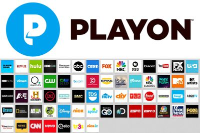 Official PlayOn Logo and Channel Table