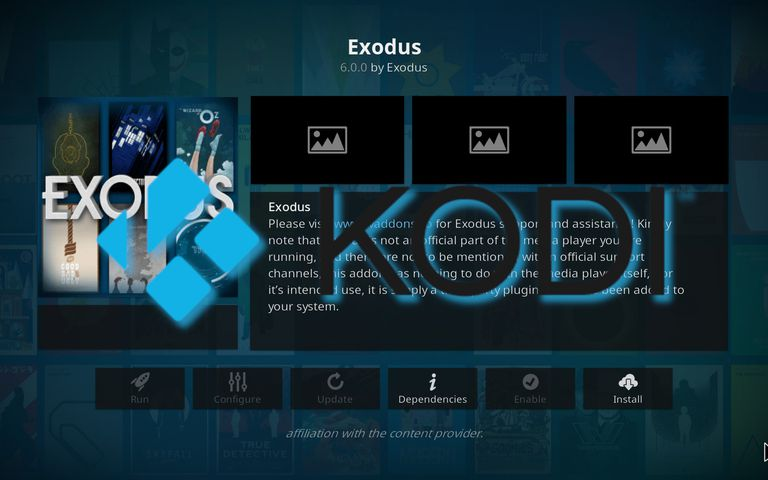 kodi exodus for windows