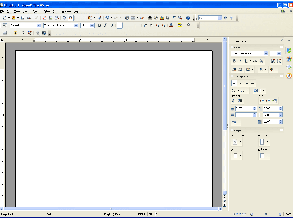 A Review Of Openoffice Writer