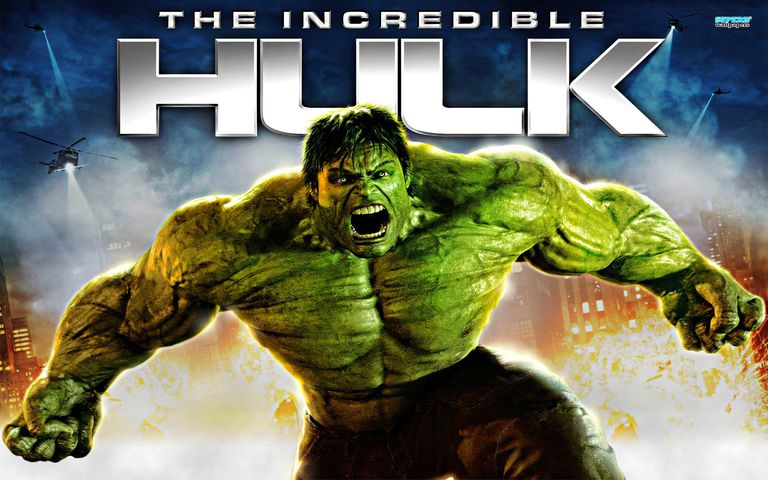 The Incredible Hulk promotional art