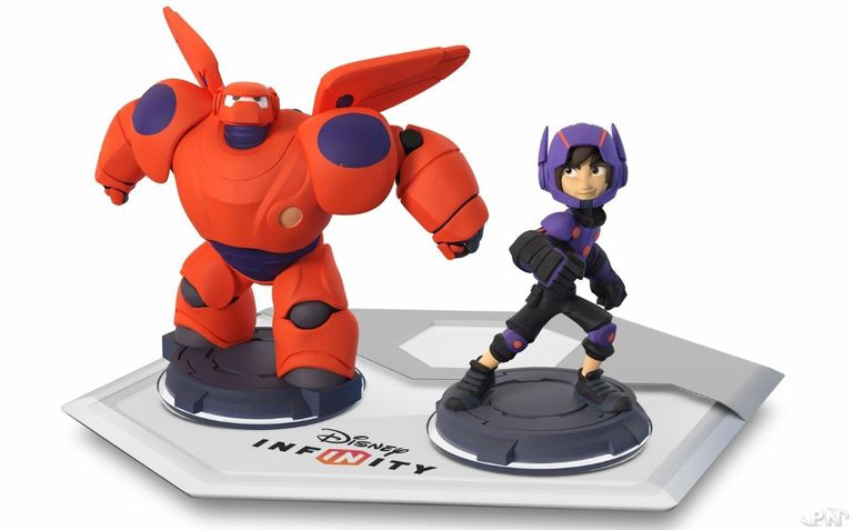 Disney Infinity Base with Baymax and Hiro
