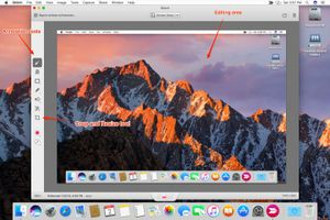 Skitch screen capture and markup app
