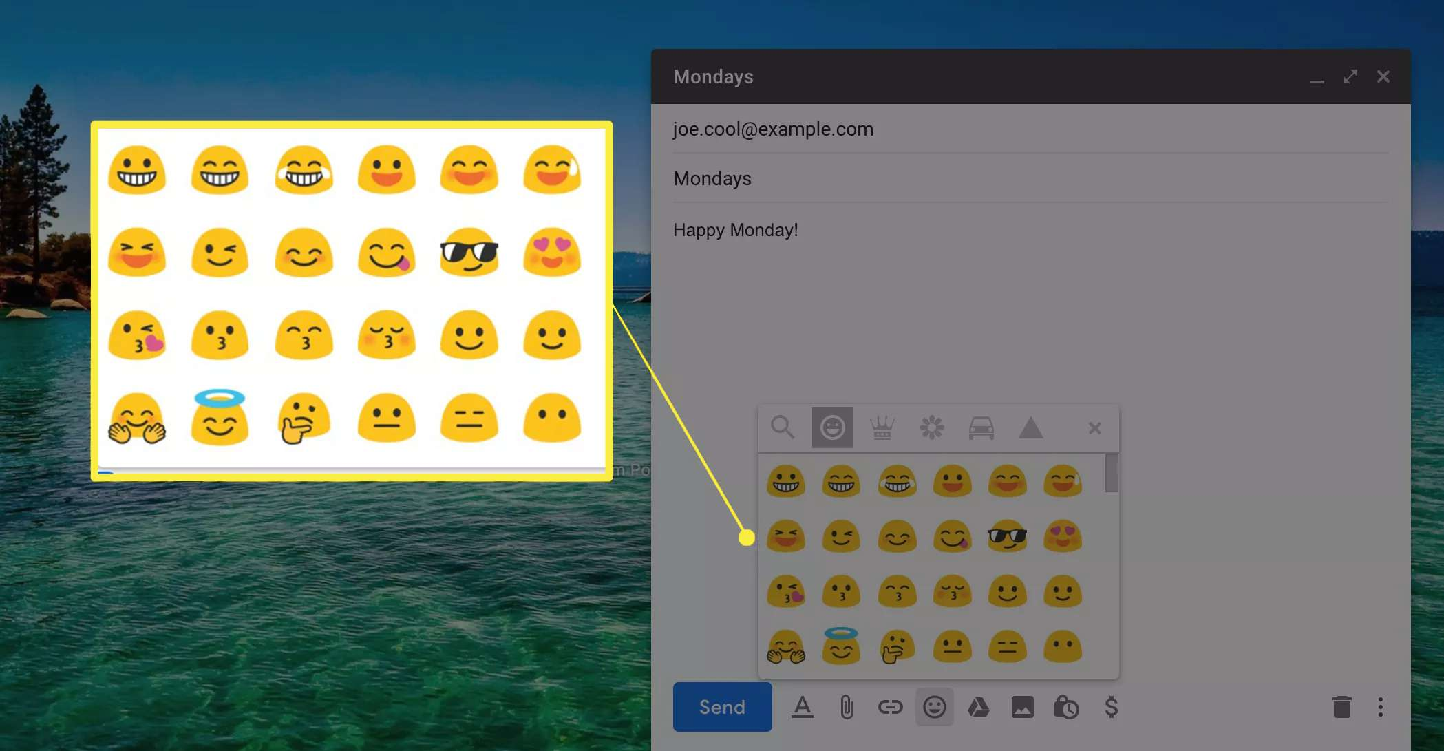 Emotions in Gmail
