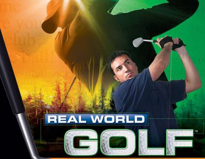 Real World Golf game for xbox