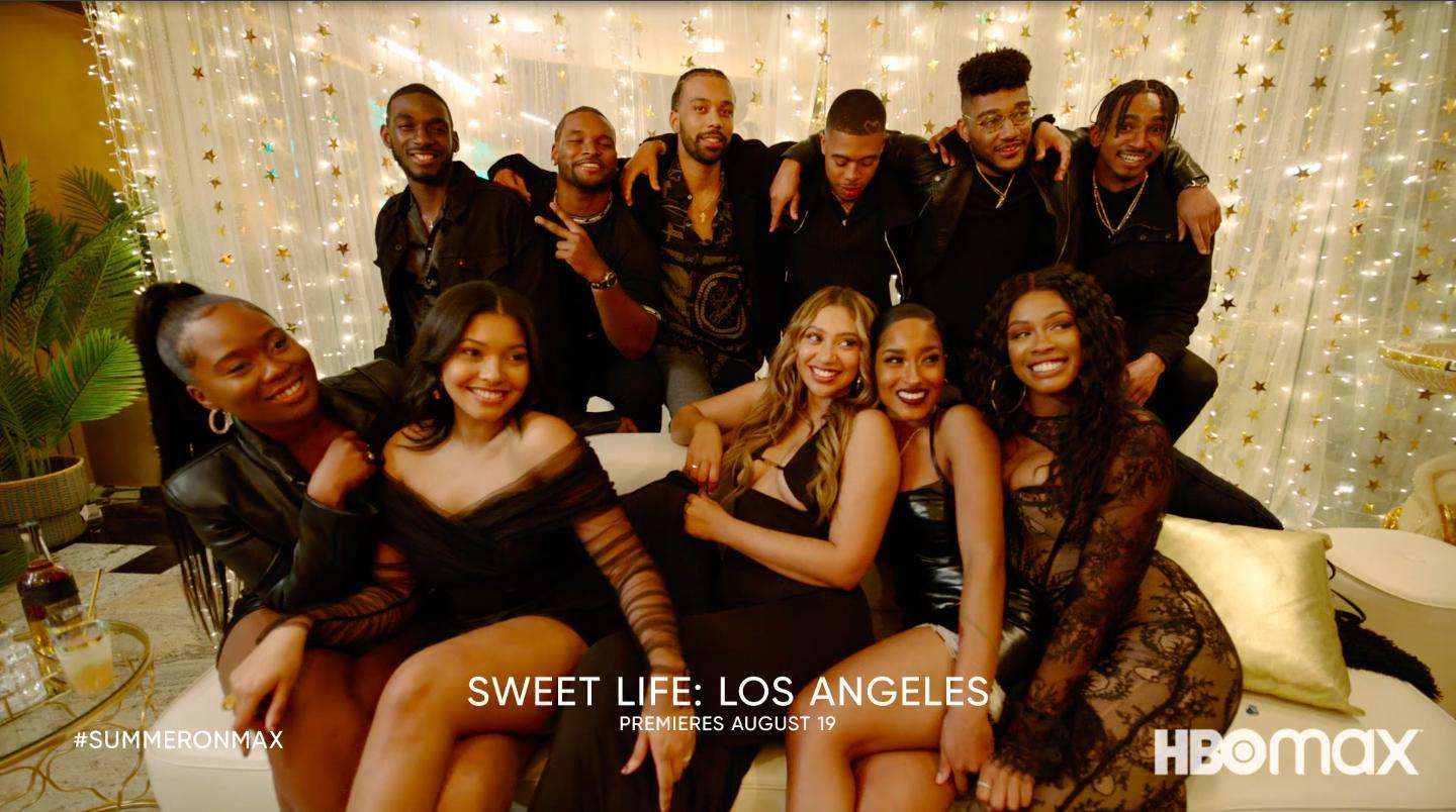 The cast of Sweet Life: Los Angeles