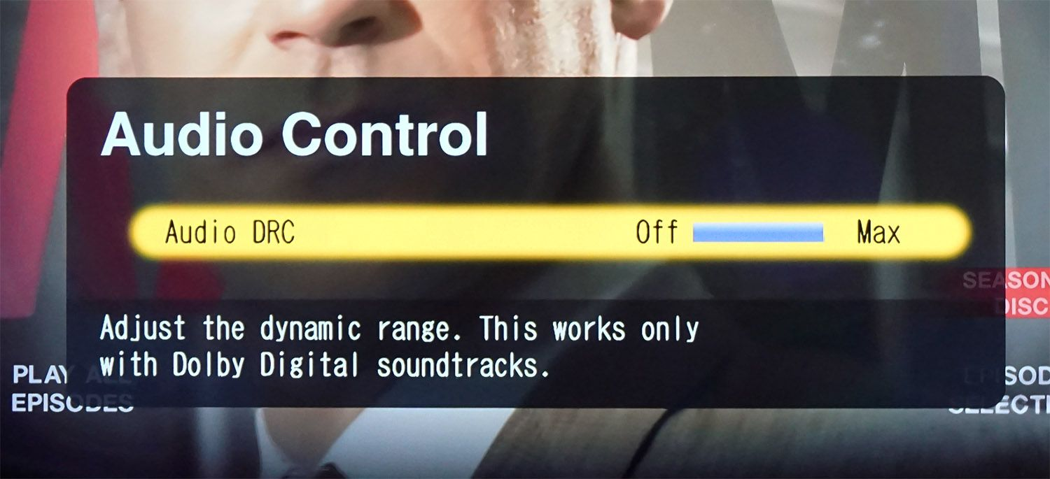 How to Correct Low Center Channel Dialog