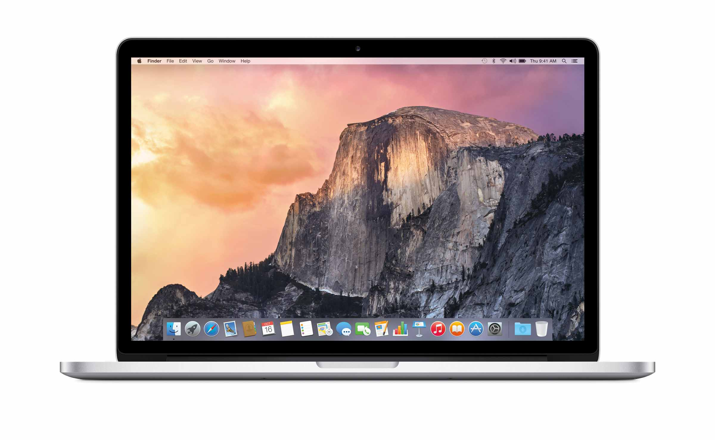 OS X Yosemite on MacBook Pro