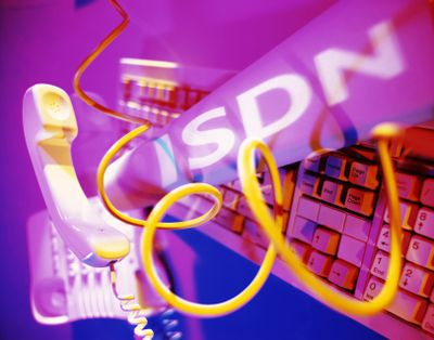 ISDN - Telephone, keyboard, cable and bandwidth