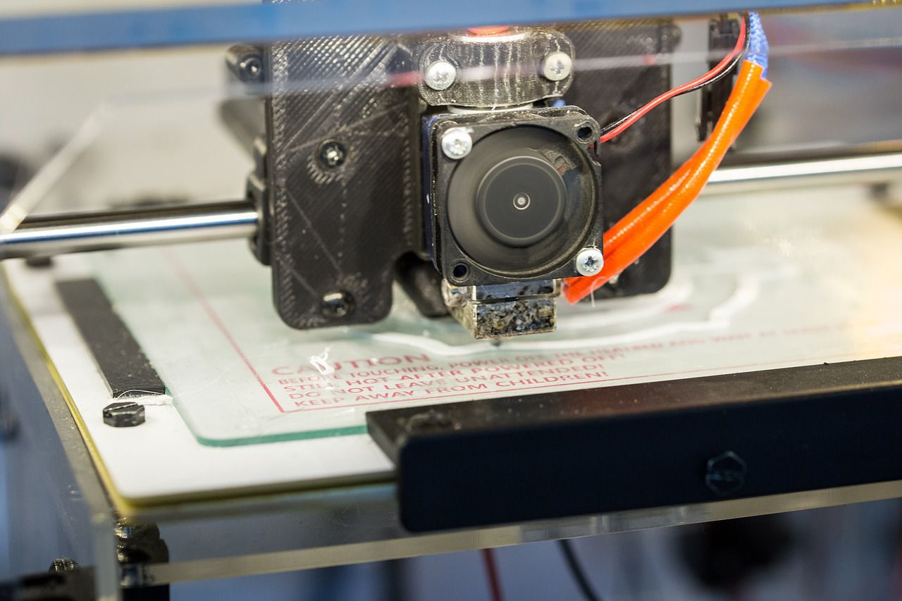 A clogged 3D printer can ooze or leak