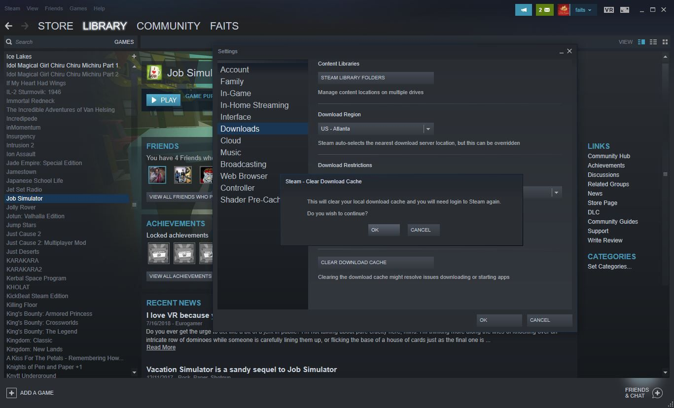 Steam Disk Write Error: What It Is and How to Fix It