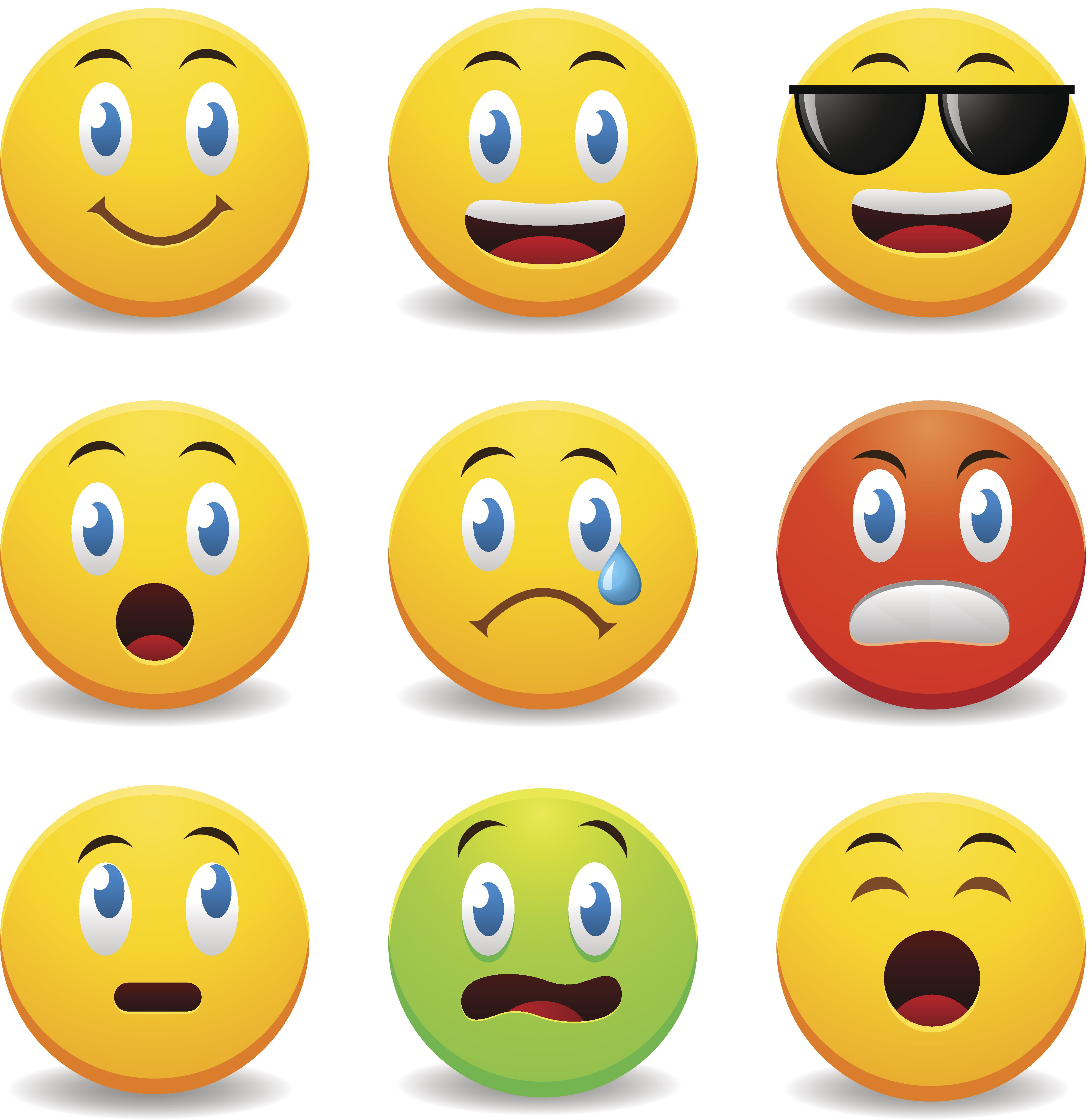Happy Emotion Icons
