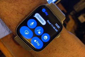 Apple Watch Messages interface