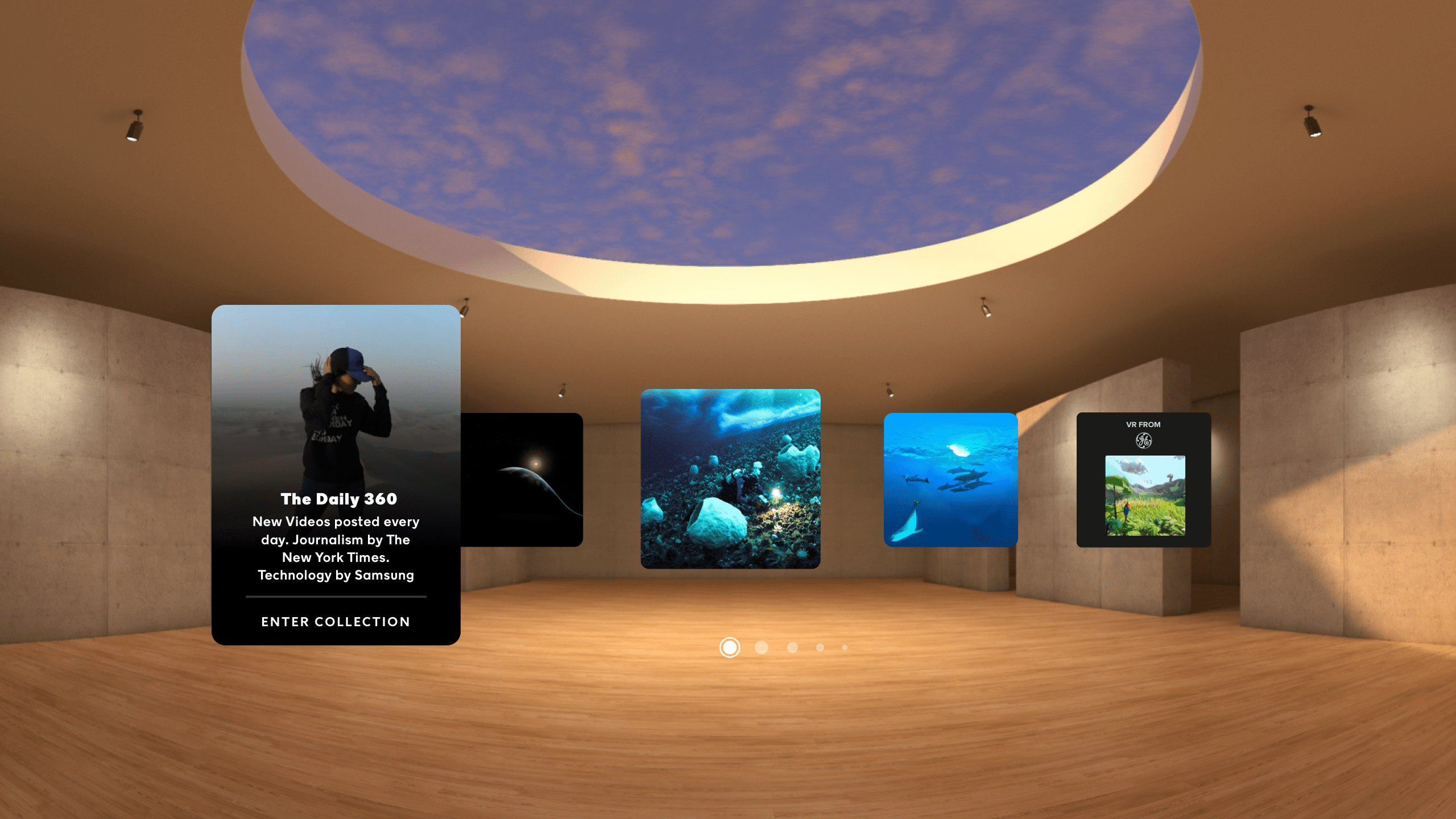 NYT VR is a great way to connect with the news.