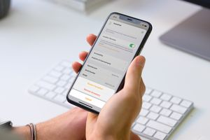 HomePod settings to reset the HomePod on iPhone