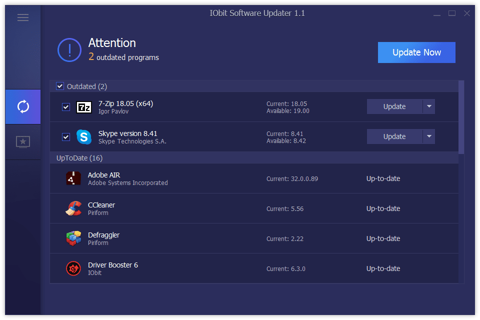 10 Free Software Updater Programs (August 2019)