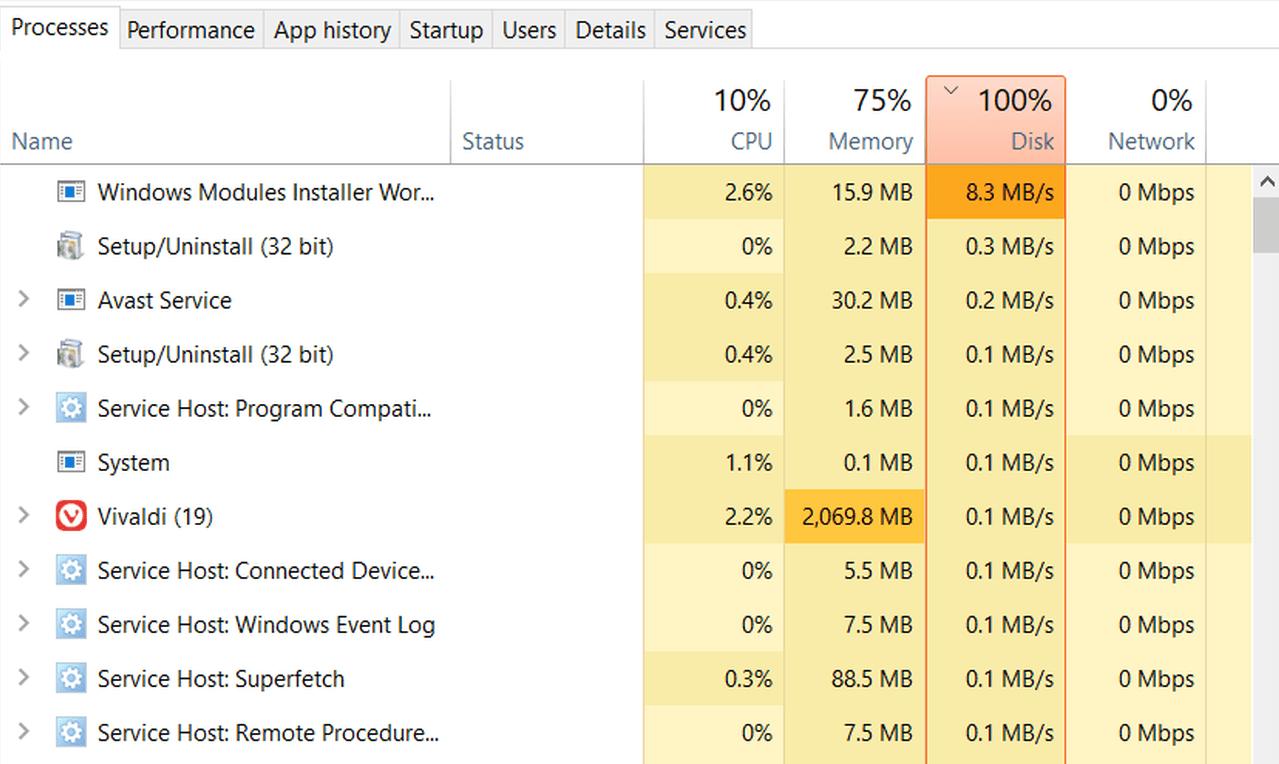 reduce chrome disk usage