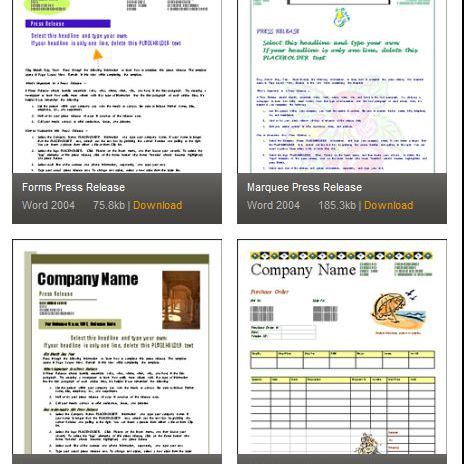 Microsoft word templates for business documents mactopia business forms word templates wajeb Image collections