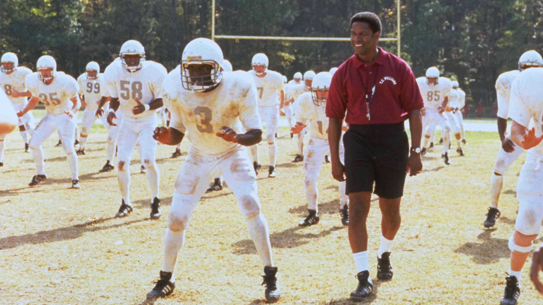 Denzel Washington in Remember the Titans