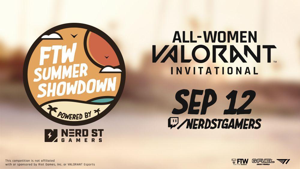 The FTW Summer Showdown/All-women Valorant Invitational