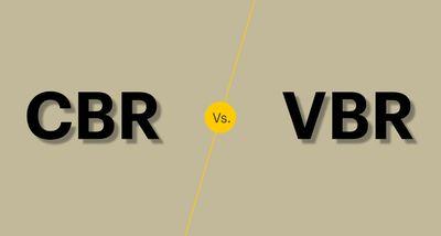 CBR vs VBR
