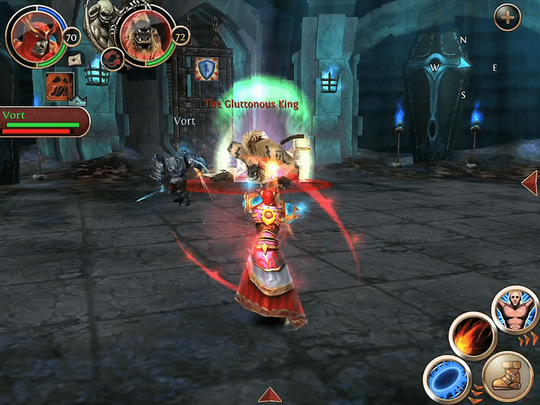Order & Chaos Online is World of Warcraft for Your iPad