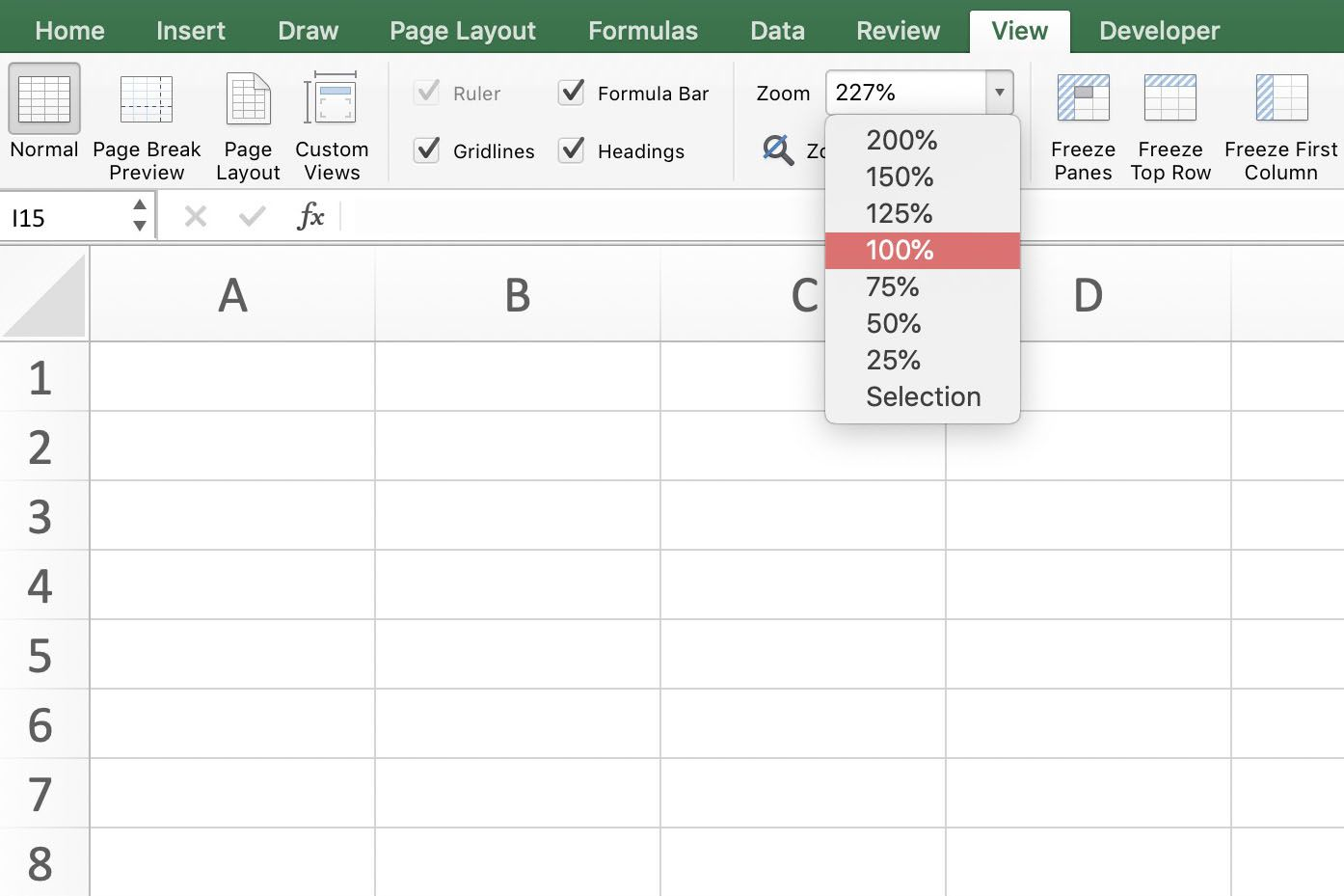 Zoom in Excel: Change Your Worksheet Magnification