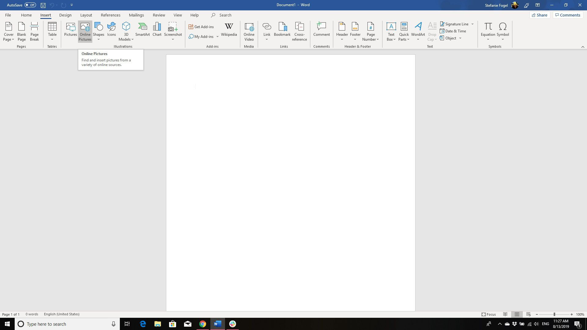 How to Insert Pictures and Clip Art in Microsoft Word