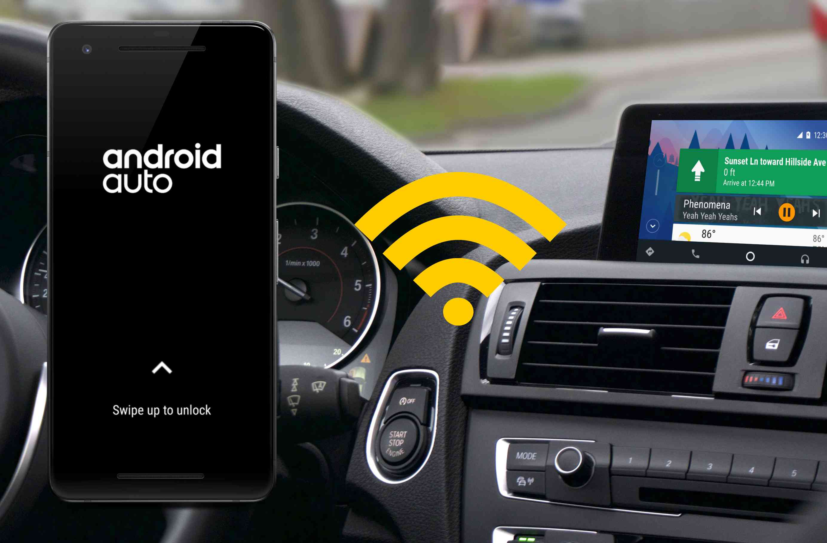 android auto not showing on sync 3