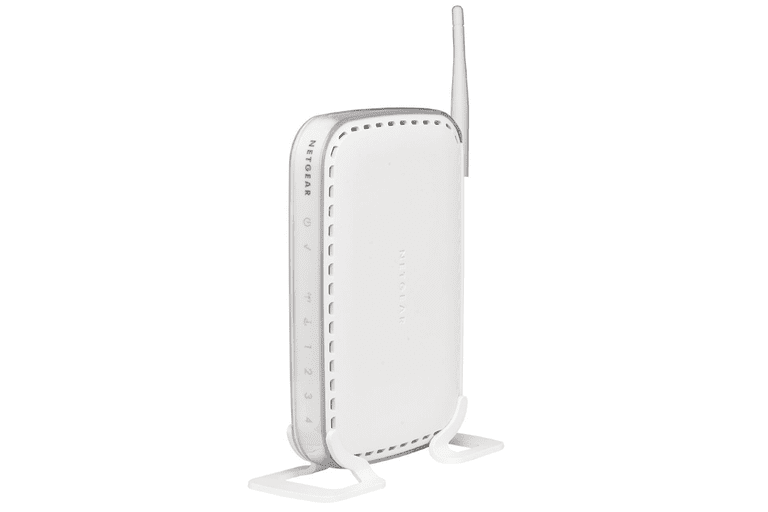 Picture of a Netgear WGR614 router