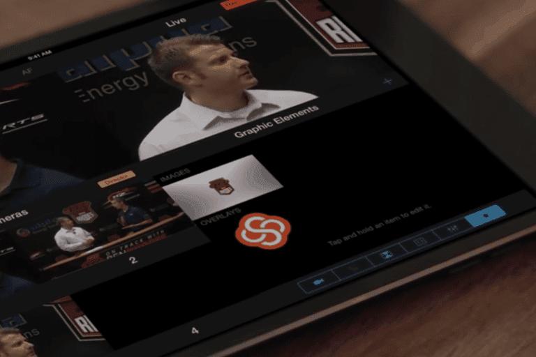 screenshot of Stitcher studio on a tablet