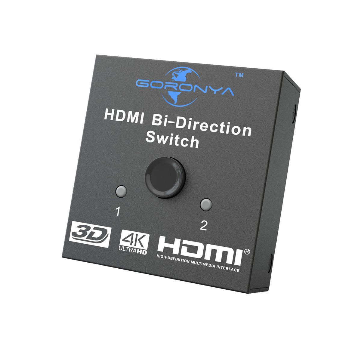 The 8 Best Hdmi Switchers To Buy In 2018 2 Way Audio Switch Box Goronya Bi Directional Switcher
