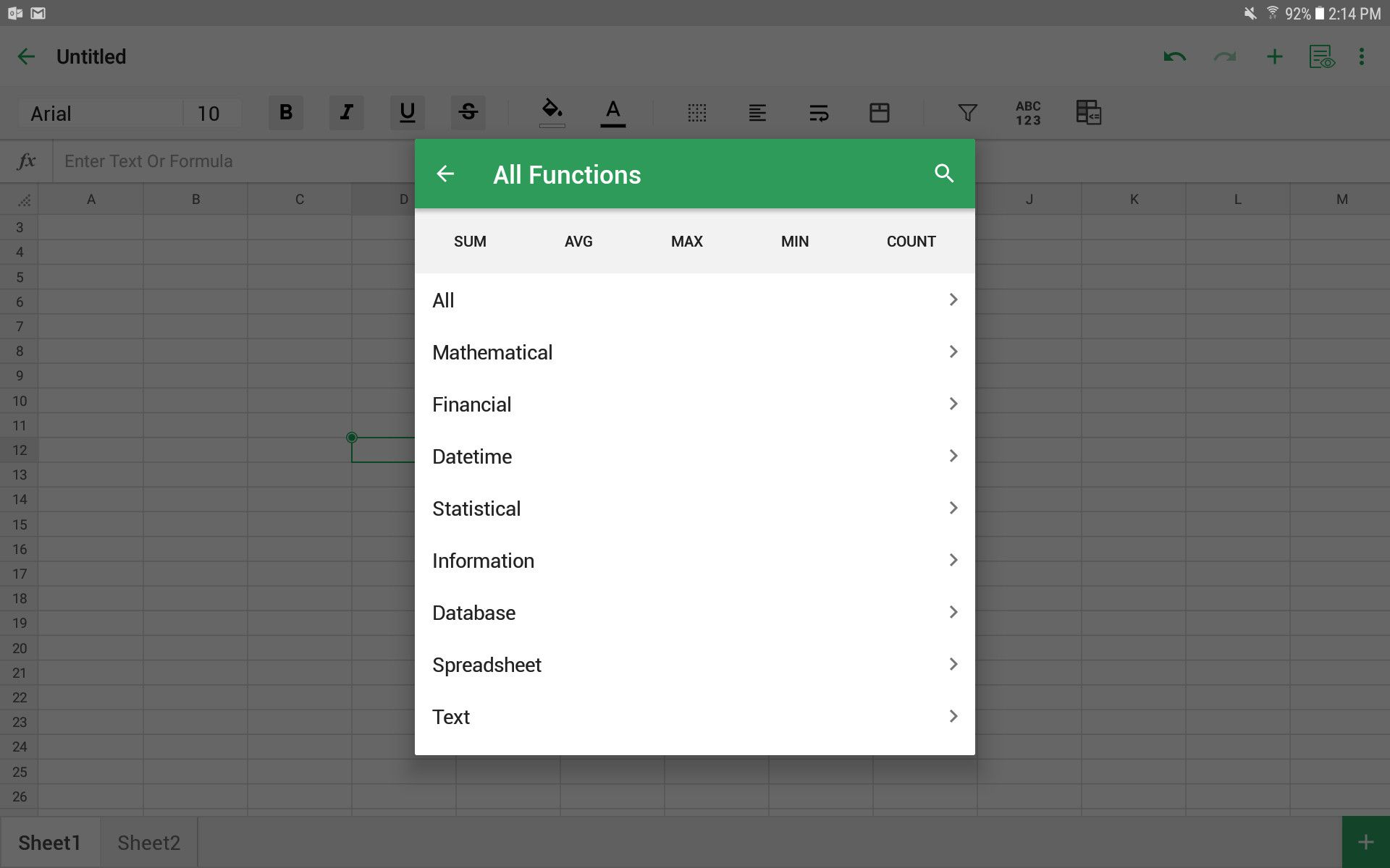 The 5 Best Spreadsheet Apps for Android in 2019