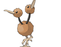 Doduo - Ken Sugimori's Official Artwork