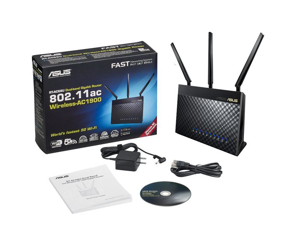 ASUS RT-AC68U Wireless AC-1900 Router