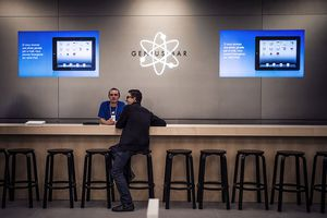 An Apple Genius Bar