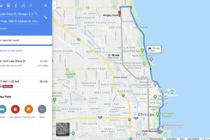A screenshot of Google Maps