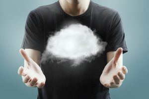 Cloud network with using man