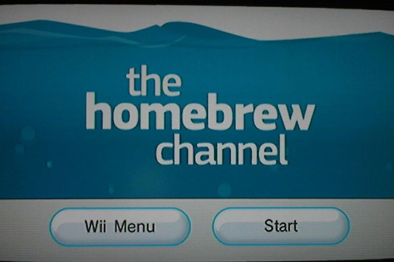 homebrew channel screenshot