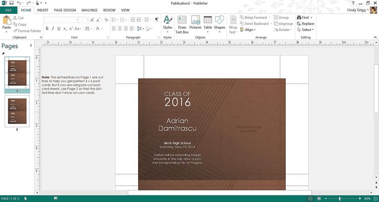 Get microsofts best graduation templates elegant brown graduation template or printable for microsoft publisher filmwisefo