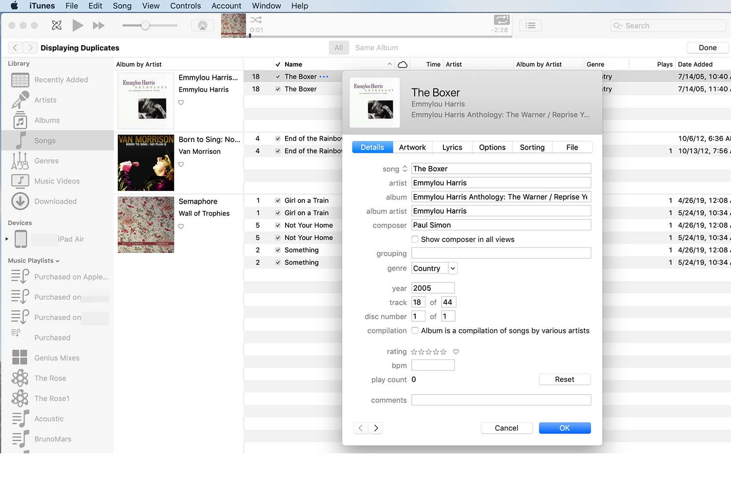 Delete Duplicate Songs in iTunes for iPhone & iPod