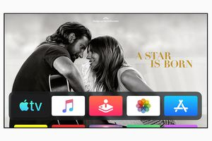 A Star is Born Apple TV promotional image