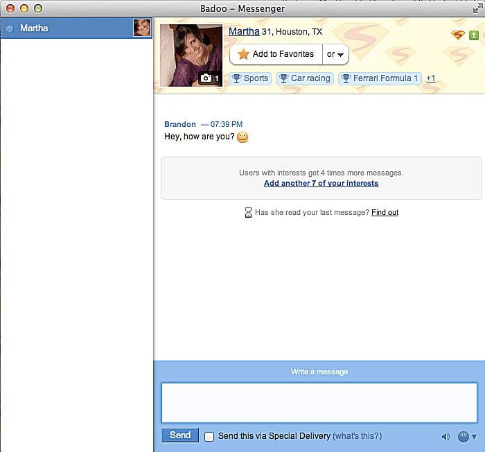Chat limit umgehen badoo How can