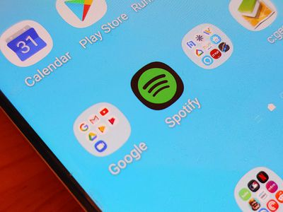 Spotify App on an Android phone