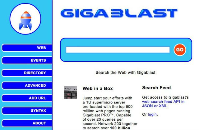 Search The Web With Gigablast